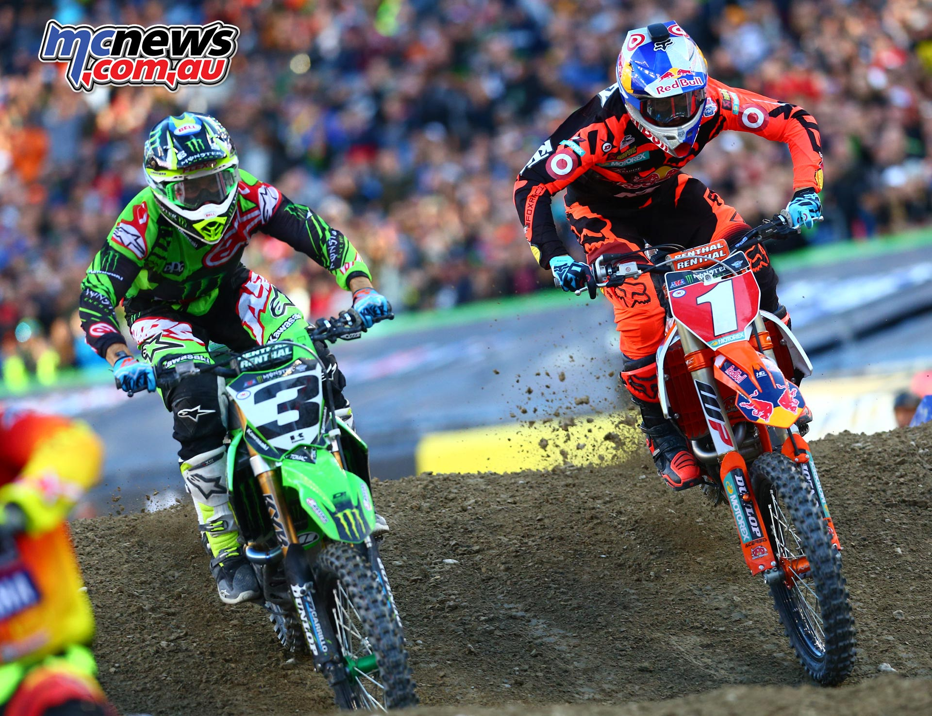 Eli Tomac and Ryan Dungey