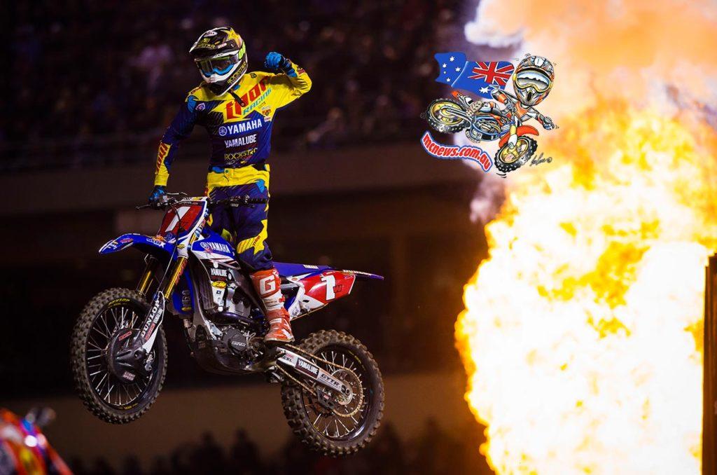 AMA Supercross 2016 - Anaheim 1 - Cooper Webb
