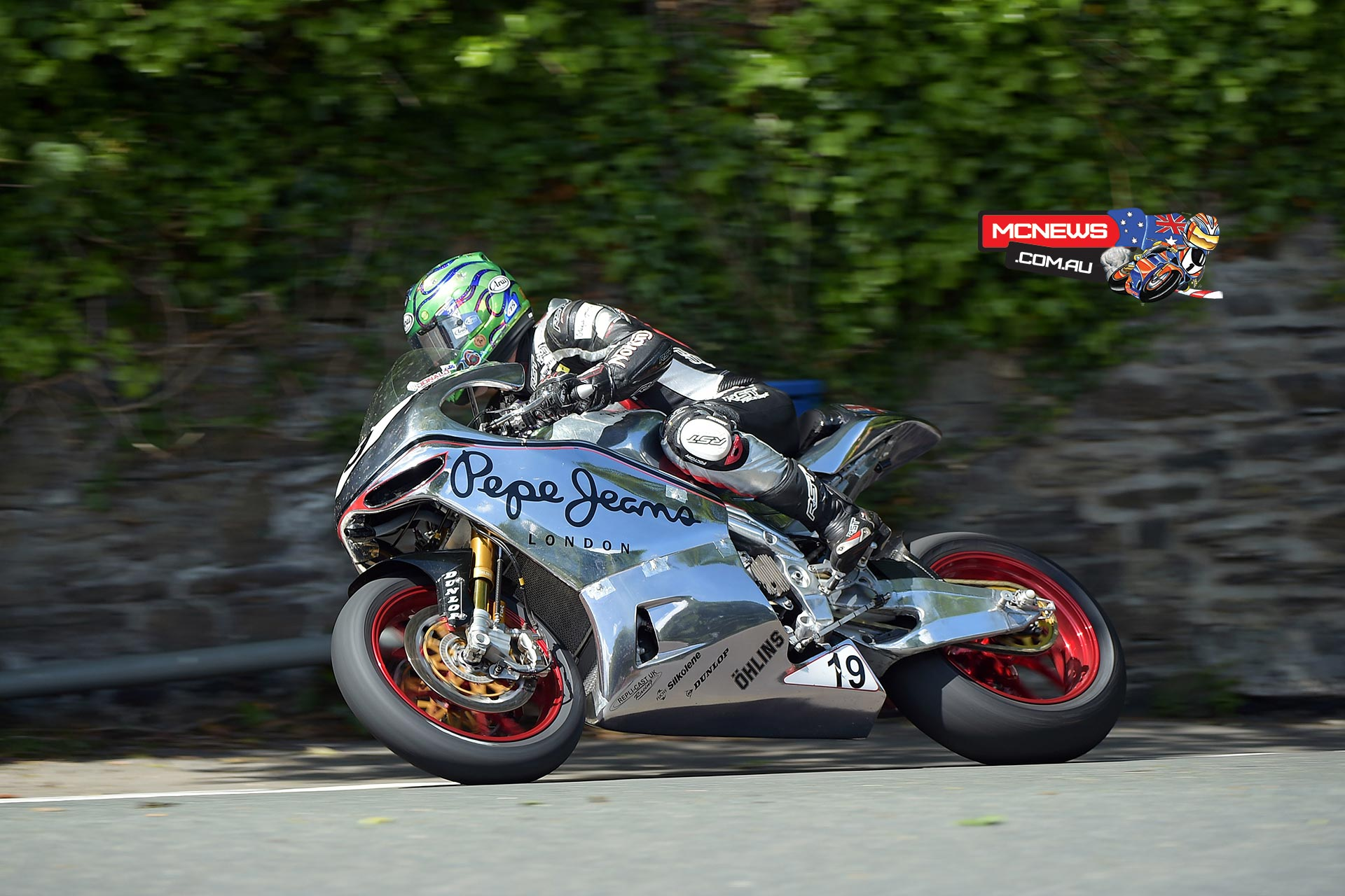 Cameron Donald at the 2015 IOM TT