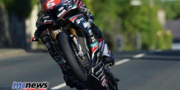 Michael Dunlop at the IOM TT in 2016