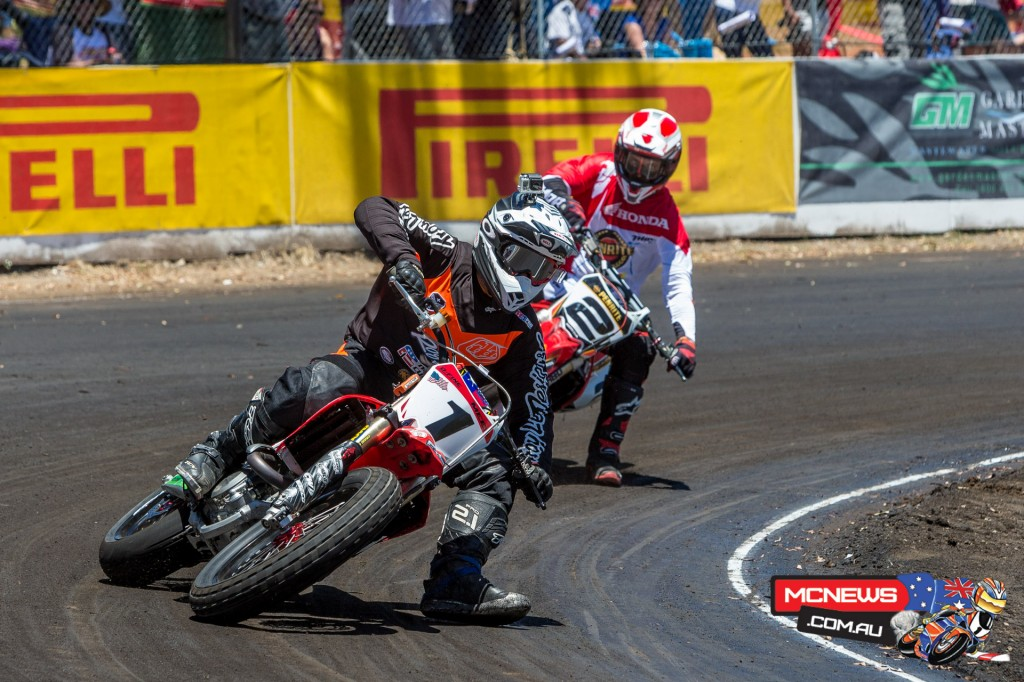 Jared Mees leads Jay Marmont