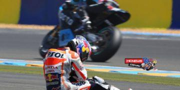 Dani Pedrosa Le Mans MotoGP 2015