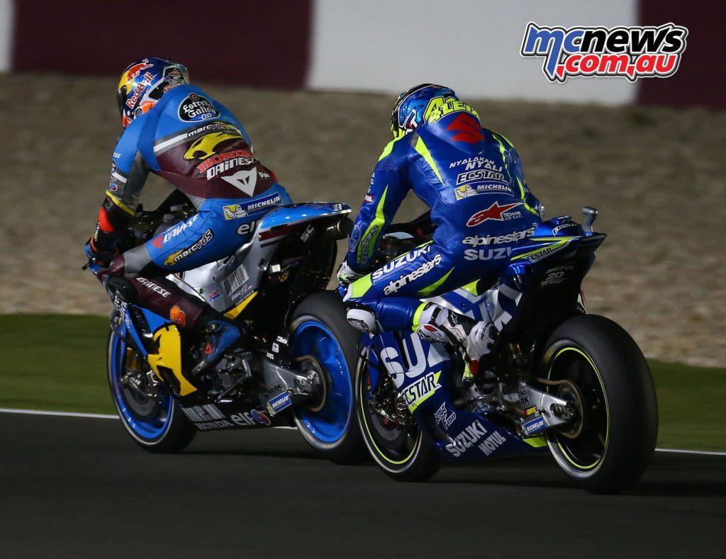 Jack Miller and Aleix Espargaro at Qatar MotoGP