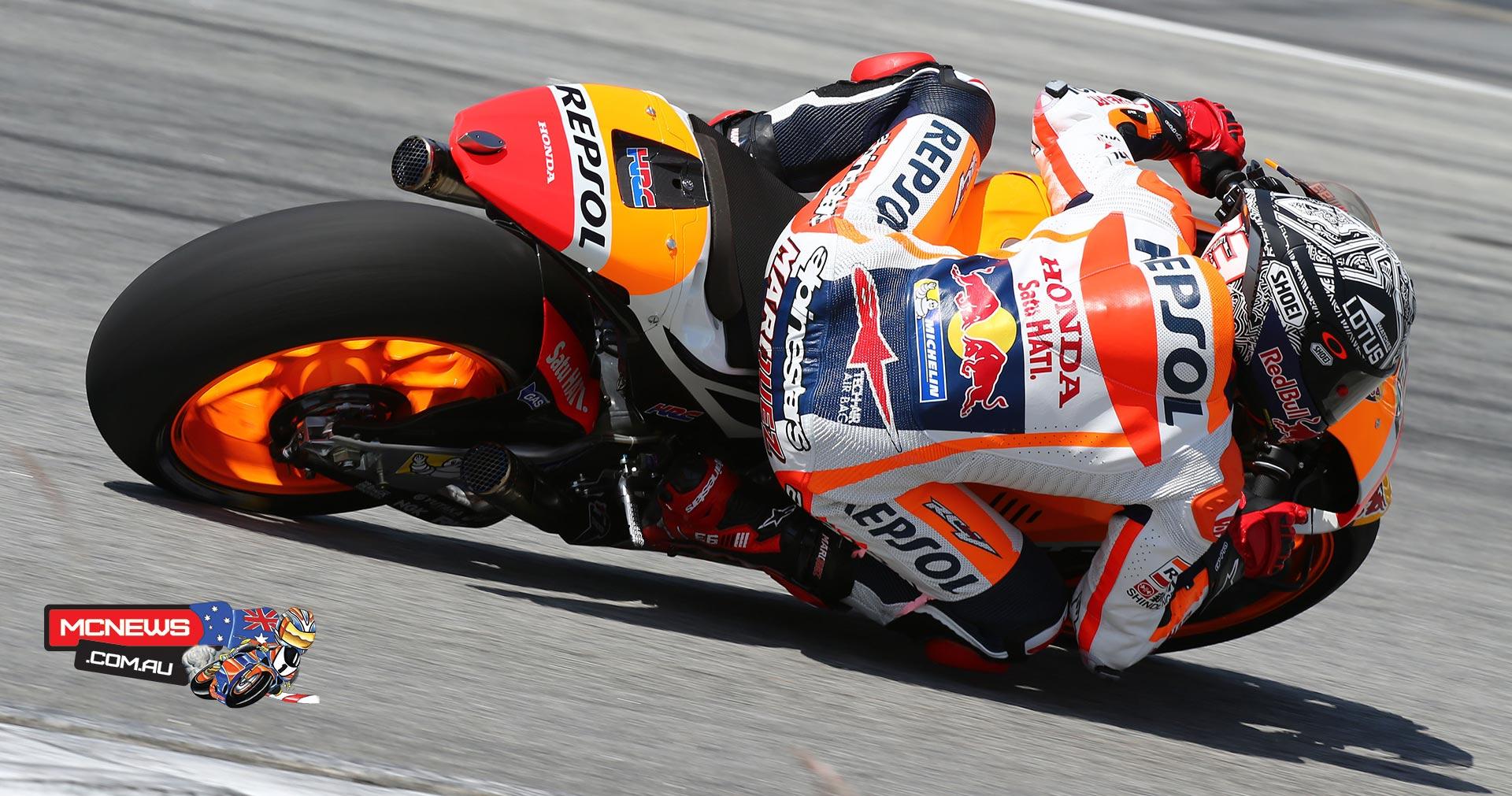 Marc Marquez - 2016 Sepang MotoGP Test - Image by AJRN