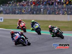 Vinales has held onto his MotoGP championship lead coming from Le Mans