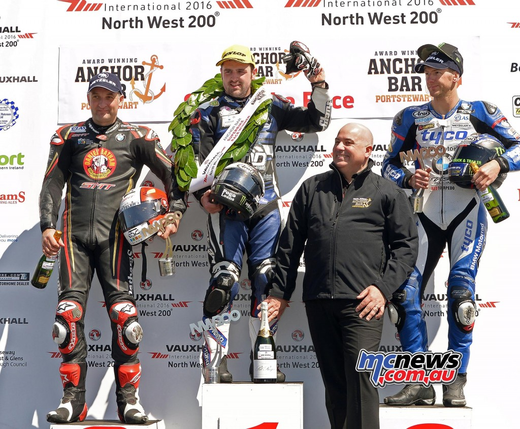 North West 200 - 2016 - Superbike Podium