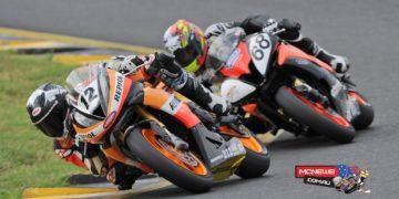 Swann Superbikes 2016 - Round One - Mark Chiodo, Mitch Levy