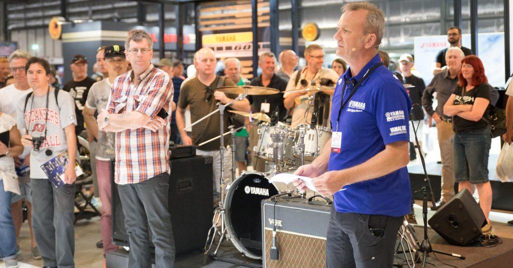 Yamaha Motor Australia Communications Manager Sean Goldhawk said Yamaha enjoyed one of their best ever shows.