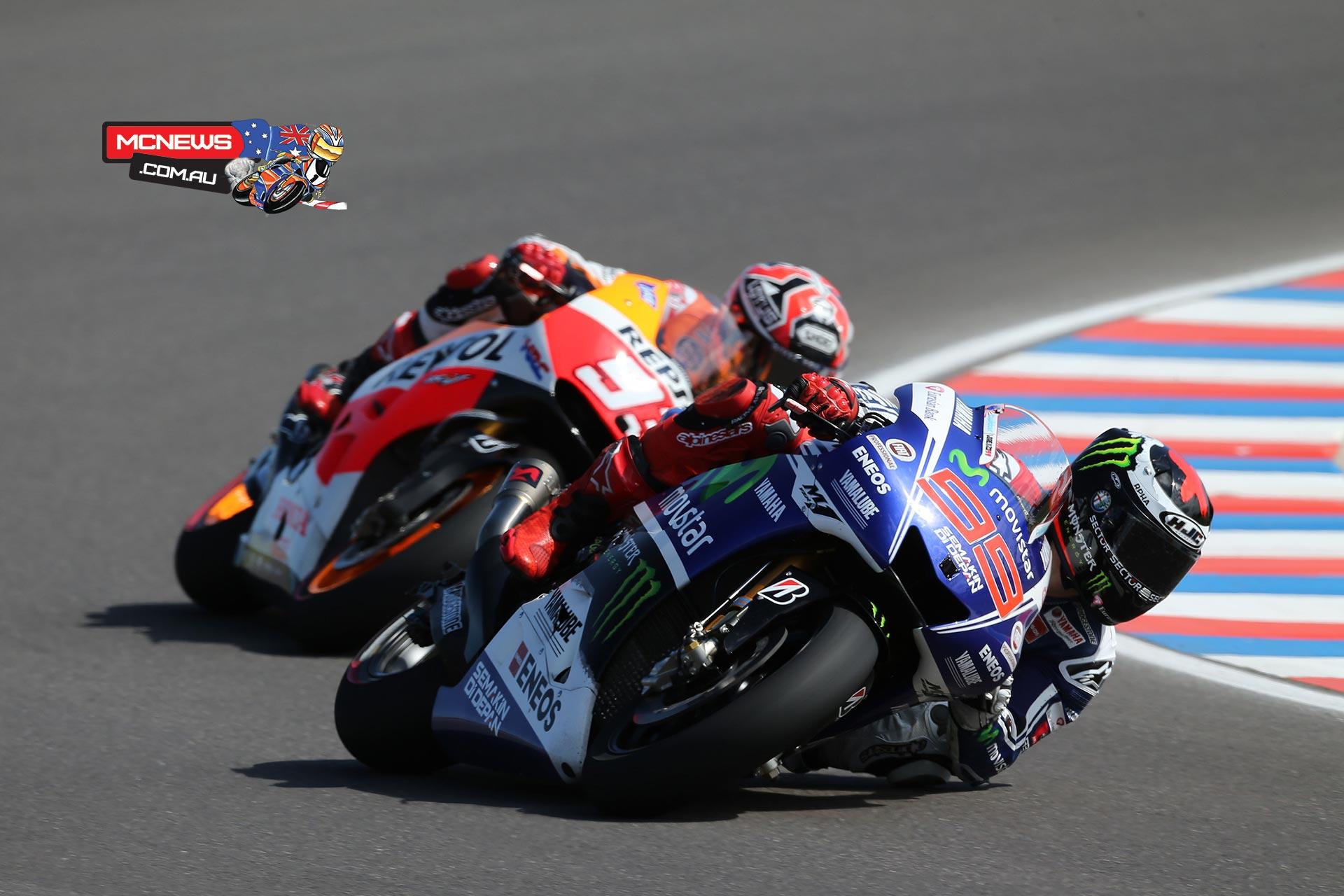 Argentina MotoGP 2014 - Jorge Lorenzo and Marc Marquez